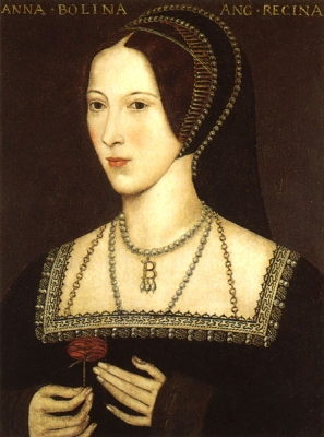 Anne Boleyn, second wife of King Henry VIII