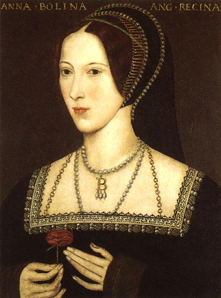 Anne Boleyn, second wife of King Henry VIII