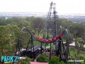 The Demon – a roller-coaster from Australia's Wonderland