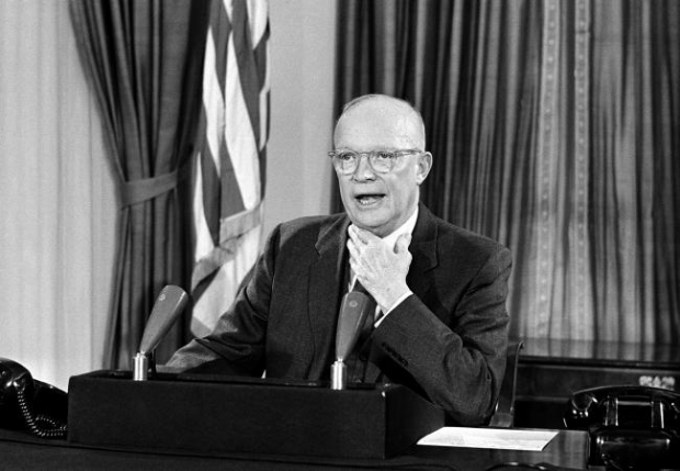 US President, Dwight Eisenhower